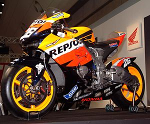 English: HONDA RC212V Pedrosa 2007
