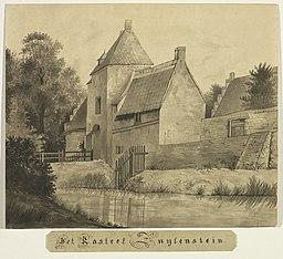 HUA-206388-Gezicht op het poortgebouw van het kasteel Zuilenstein bij Amerongen
