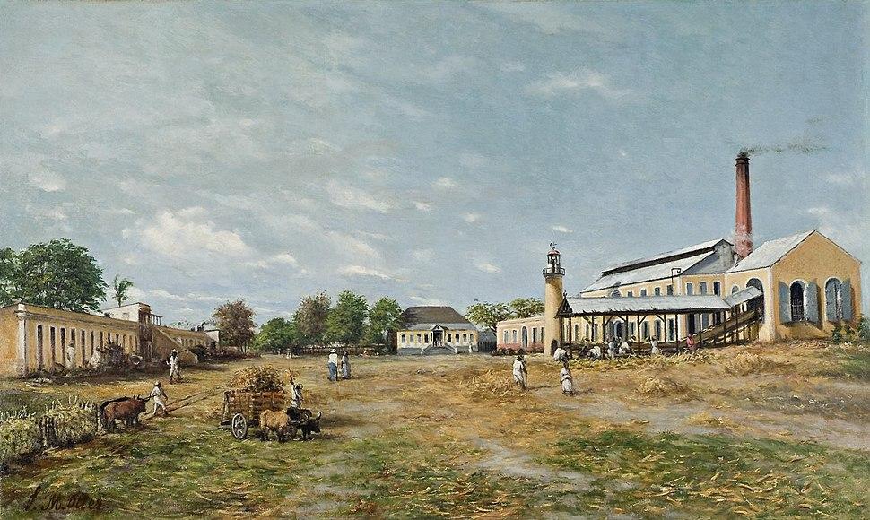 Hacienda La Fortuna Francisco Oller 1885 Brooklyn Museum