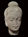 Hadda Head of meditating Buddha. Musée Labit.jpg