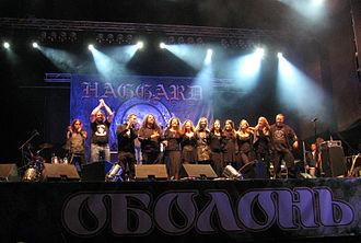 Haggard (band) - Haggard at Global East Rock Festival 2010 in Kyiv, Ukraine.