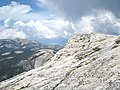 Half Dome. View back northeast along the northern edge of the dome. - panoramio.jpg