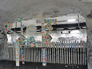 Hallonbergen - Hallonbergen subway station