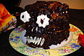 Halloween cake at a party.jpg
