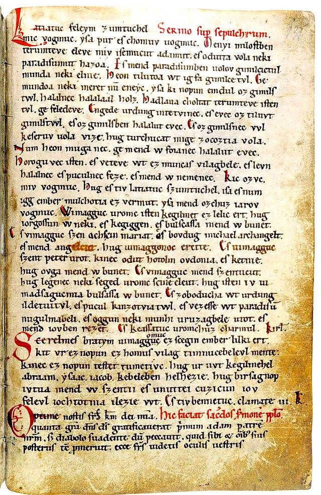 Ungarische Literatur des Mittelalters - Wikiwand