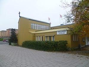 Hallunda - A church in Hallunda