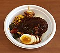 Hamburg and egg with demi-glace source don of FamilyMart (2).jpg