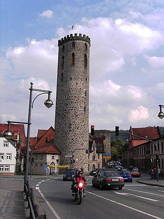 Hann. Münden - Wall Tower Fährenpfortenturm.