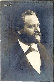 Hans Sitt Czech violinist, music educator and composer