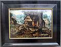 Hans bol, veduta di villaggio con scene burlesche, 1560-90 ca. 01.JPG