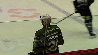 Tomáš Harant Slovak ice hockey player