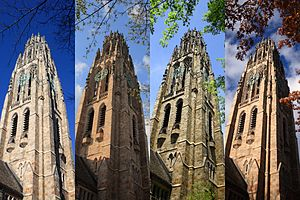 Harkness Tower - Harkness Tower over the year