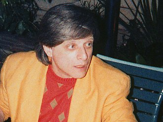 The City on the Edge of Forever - Harlan Ellison (pictured in 1986) was one of the first writers to be hired for Star Trek