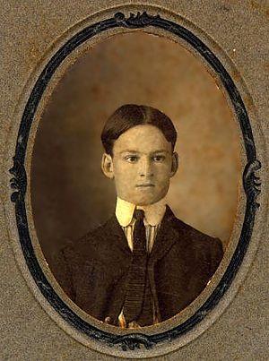 Harmon Caldwell Drew - Harmon Caldwell Drew as a boy (ca. 1903)