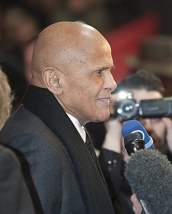 Harry Belafonte at the premiere of the documen...