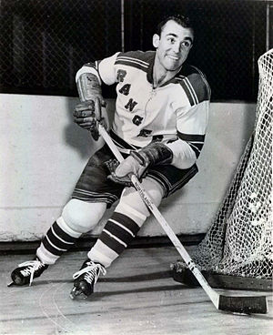 Harry Howell (ice hockey) - Howell with the New York Rangers.