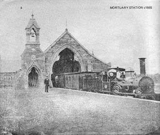 Funeral train - Cemetery Station No. 1 railway station, Rookwood Cemetery Australia