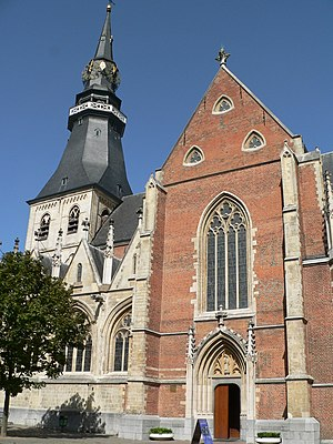 Roman Catholic Diocese of Hasselt - St. Quentin Cathedral in Hasselt