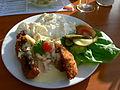 Havneby - Scholle, Krabben und Kartoffelsalat.jpg