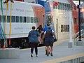 Heading for Sunday FrontRunner train, Provo station, Jun 16.jpg