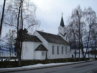 Jølster - Helgheim Church in Jølster
