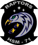 Helicopter Maritime Strike Squadron 71 (US Navy) insignia 2016.png