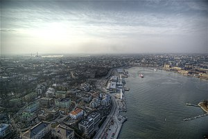 Helsinki viewed from a hot air balloon.jpg