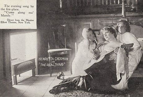 Dans The Real Thing (Broadway, 1911, image promotionnelle)