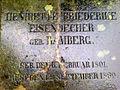 Henriette Friederike Eisendecher geb. Ramberg 6. Februar 1801 12. September 1860 Neustädter Friedhof Hannover.jpg