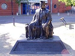 Henry egerton cotton statue