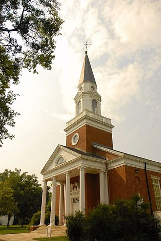 Pfeiffer University - Henry Pfeiffer Chapel