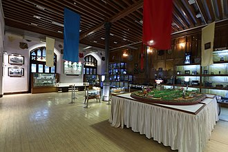 Western Railway zone - A view of Heritage Gallery, at Western Railway Headquarters, Churchgate, Mumbai