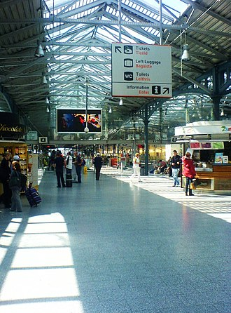 Heuston railway station - Image: Heuston