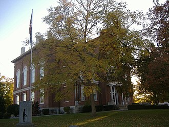 Hickman County, Kentucky - Image: Hickman County Courthouse KY
