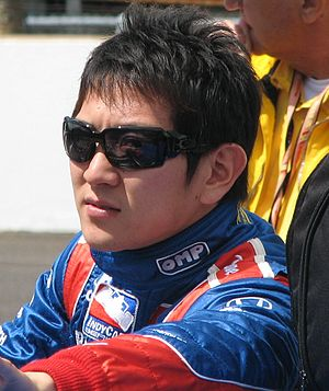 Hideki Mutoh - Mutoh at the Indianapolis Motor Speedway in 2009.