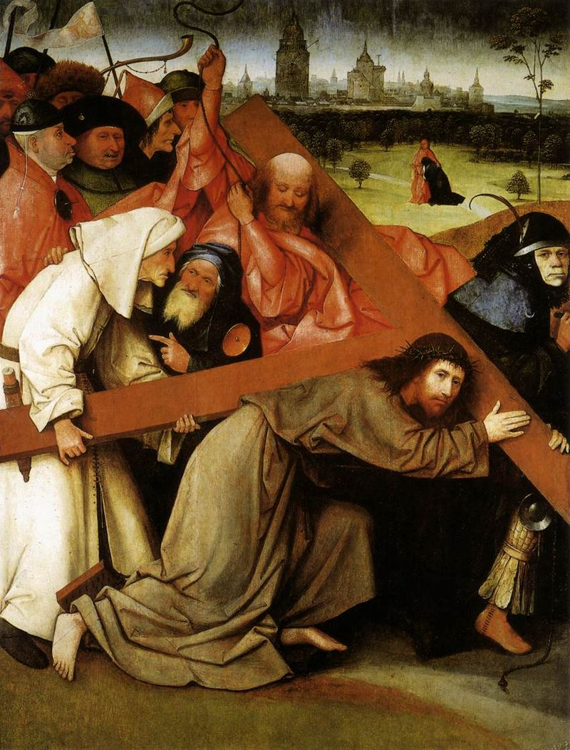 Hieronymus Bosch - Christ Carrying the Cross - WGA02556.jpg
