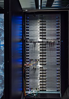 Cray XC40 Supercomputer manufactured by Cray