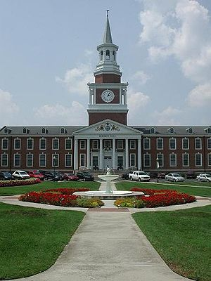 High Point, North Carolina - High Point University, Roberts Hall