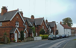 North Ferriby village in the United Kingdom