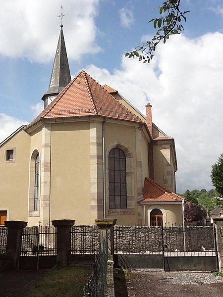 Hilbesheim (Moselle) église
