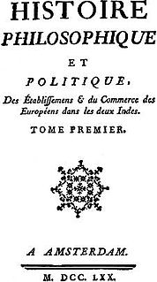 book by Guillaume Thomas François Raynal