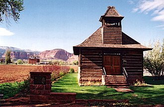 National Register of Historic Places listings in Utah - Torrey Log Church–Schoolhouse in Wayne County