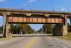 Childersburg, Alabama - Image: Historic Childersburg Alabama Bridge