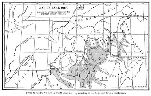 Glacial Lake Ohio Historical Collections of Ohio- An Encyclopedia of the State; History Both General and Local, Geography with Descriptions of Its Counties, Cities and Villages, Its Agricultural, Manufacturing, Mining (14770614544).jpg