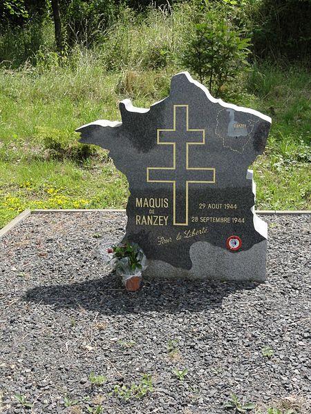 Hoéville (M-et-M) mémorial maquis de Ranzey