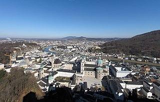 Salzburg City in Austria