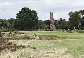 Woodhall Spa Golf Club - Approach to 3rd green (Hotchkin)