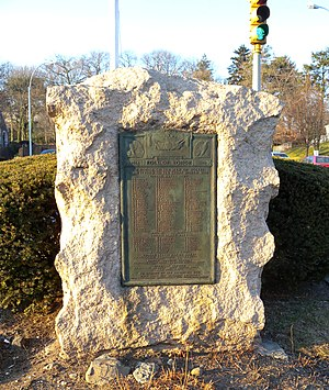 Queens Village, Queens - 193rd Street war memorial