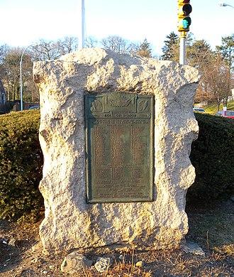 Queens Village, Queens - 193rd Street war memorial