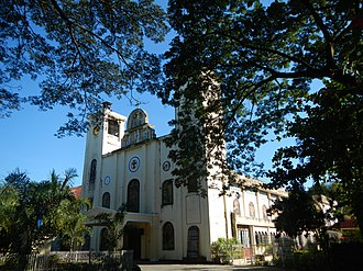 Alcala, Pangasinan - Image: Holy Cross Parishjf 120
